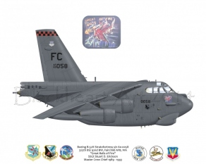 """Custome B-52H """"Great Balls Of Fire"""""""