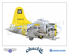 B-17G Chuckie Not for Sale