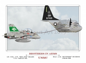 Brothers in Arms Special Print 12x17