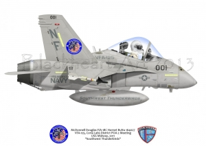 F-18C Special Markings Not for Sale