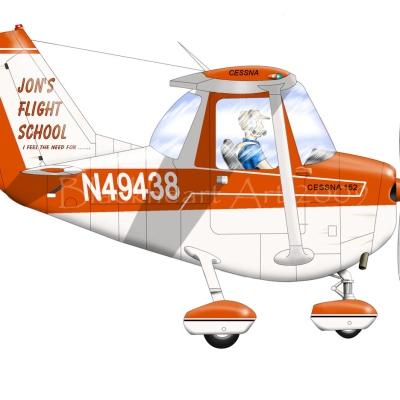 Cessna 152 Commission