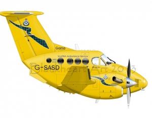 King Air B-200S