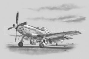 Kimberly Kaye P-51D, Pencil/photo