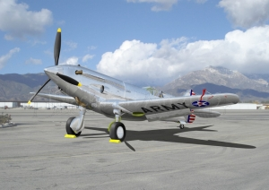 P-37 at KCCB Cable Airport Special print 12x17 and larger.