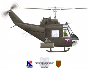 "Bell UH-1C ""Huey"" ""Rebel 31"""
