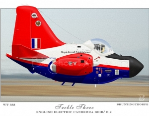 WT333 Canberra Treble Three Special print 12x17