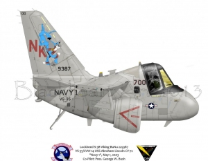 "Lockheed S-3B Viking ""Navy 1"""