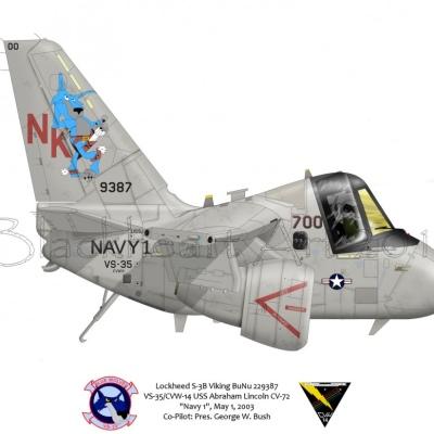 "Lockheed S-3B Viking ""Navy 1"""