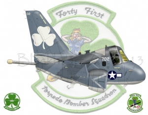 """""""Forty First"""" """"Torpedo Bomber Squadron"""""""