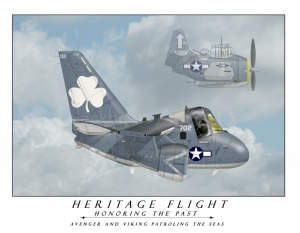 Heritage Flight S-3/ TBM Avenger