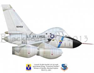 """Convair B-58A """"Cowtown Hustler"""""""