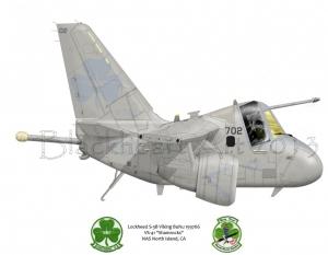 "Lockheed S-3B Viking ""Shamrocks"""