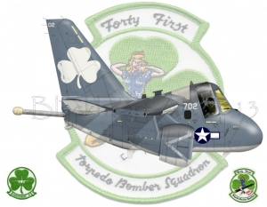 """Forty First"" ""Torpedo Bomber Squadron"""