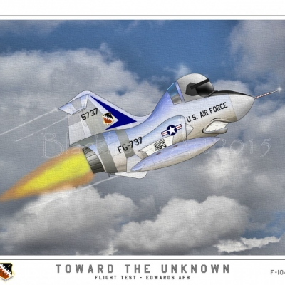 """""""Toward the Unknown"""" F-104"""