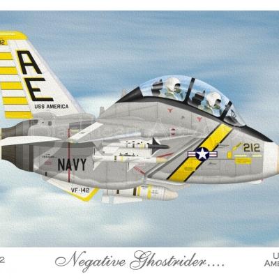 F-14A Tomcat VF-142 Ghostriders