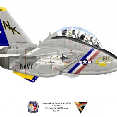 Grumman F-14A Tomcat VF-2