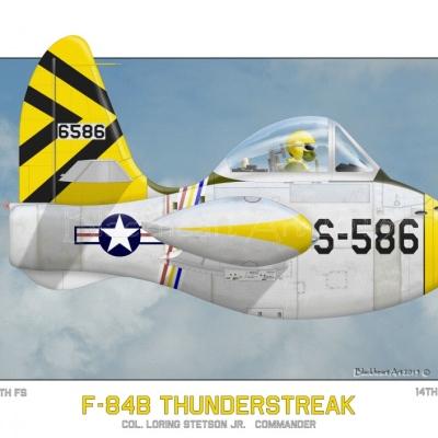 F-84B Thunderstreak