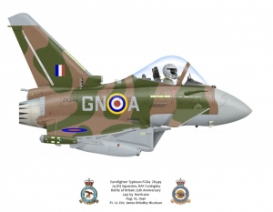 "Eurofighter Typhoon FGR4 ""Battle of Britian"" Special Scheme"