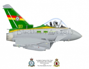 "Eurofighter Typhoon FGR4 ""The Third Shall Be The First"""