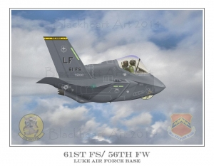 F-35A 61st FS of the 56th FW Luke AFB