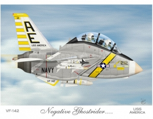 F-14A Tomcat VF-142 Ghostriders