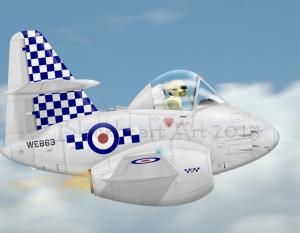 Gloster Meteor Mk8 19Sq