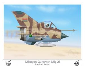 Mikoyan-Gurevitch Mig-21 Iraqi AF
