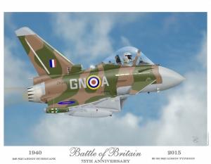 """""""Battle of Britain"""" Eurofighter Typhoon"""