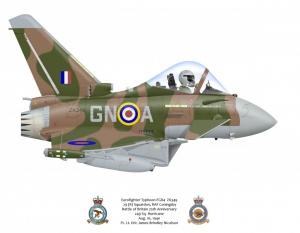 "Eurofighter Typhoon FGR4 ""Battle of Britian"" Special Scheme"