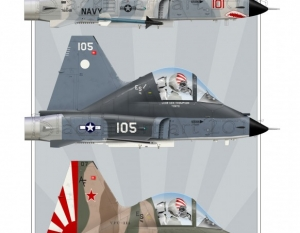 VFC-111 Sundowners F-5's