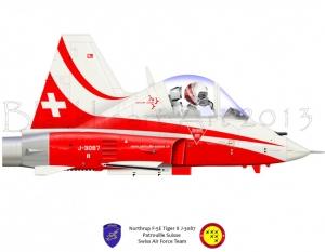 Northrop F-5C Swis Patrouille