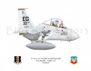 "McDonnell Douglas F-15C ""Gulf Spirit"""