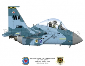 McDonnell Douglas F-15C Nellis, AFB