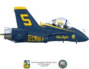F/A-18 Blue Angels 5