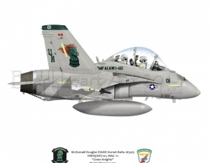 F/A-18C VMFA (AW)-121