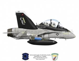 F/A-18C VMFA (AW) 225