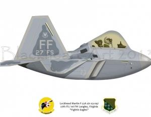 F-22A 27th FS