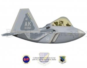 F-22A 90th FS