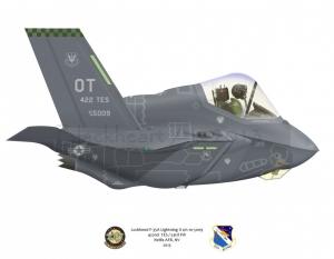 F-35A 422nd