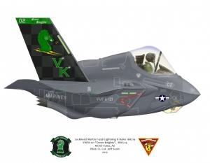 F-35 VMFA-121 proposed scheme