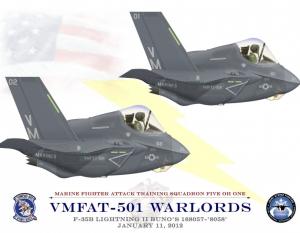 F-35 Lightning II Special Print 12x17