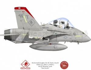 F/A-18 VMFA-232 Co Bird