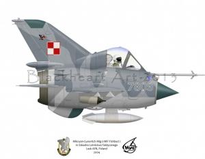 Mig 21 Polish AFB