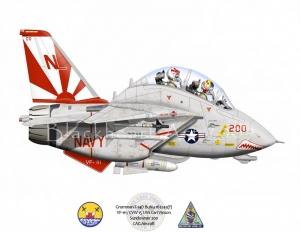 VF-111 F14