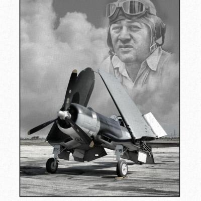 Boyington Corsair