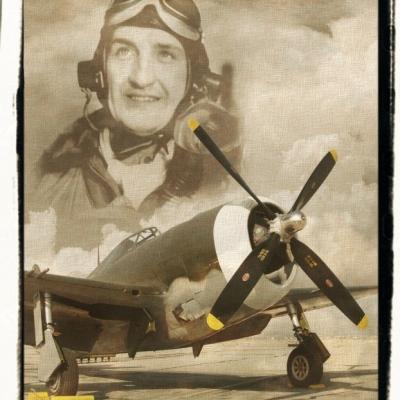 Gabby vintage P-47