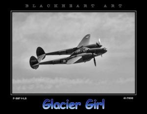 """P-38F  """"Glacier Girl"""""""