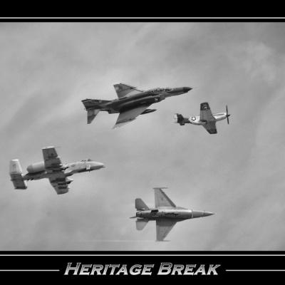Heritage flight - Break