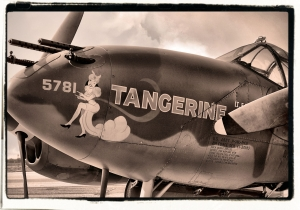 P-38 Lightning Nose Art