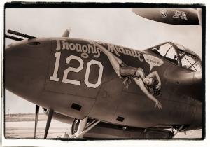 P-38 Lightning Nose Art